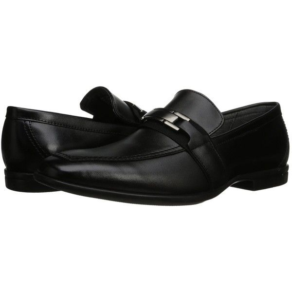 Giorgio Brutini Lawton (Black) Men's Shoes ($35) ❤ liked on Polyvore  featuring