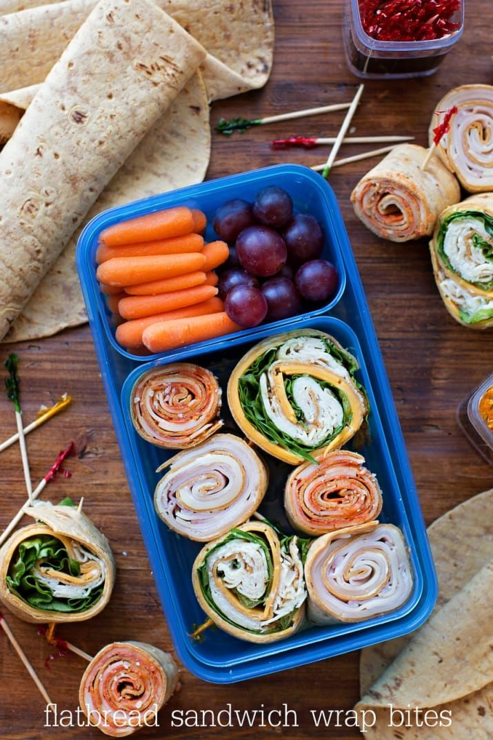 For when your kids are tired of sandwiches. Recipe here.