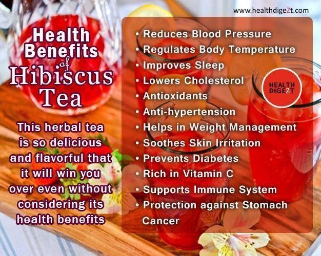 Health Benefits Of Hibiscus Tea Hibiscus Hibiscus Tea Benefits Hibiscus Tea Tea Health Benefits