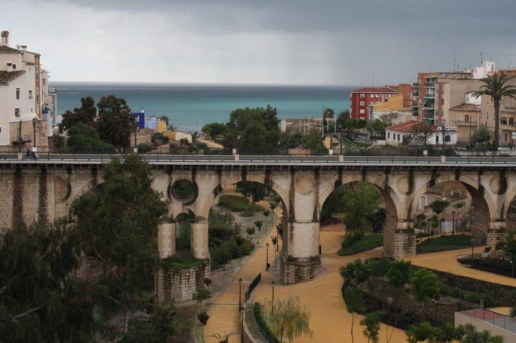 La tormenta desde el puente
