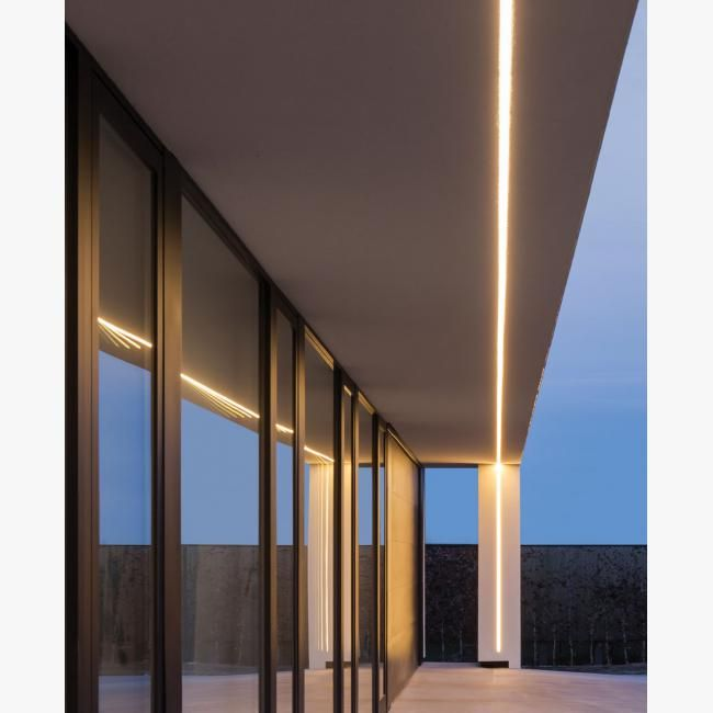 can be used in the exterior sofit similar to this application to bring