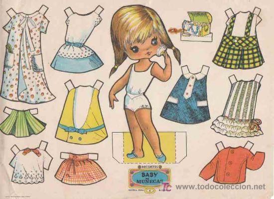 RECORTABLES BABY MUÑECAS, EDITORIAL ROMA, Nº4 - Foto 1