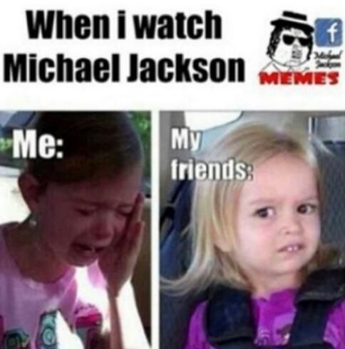 Lmao kinda accurate =P except 1/3 my friends are MJ nuts too..hence they're my friends lol