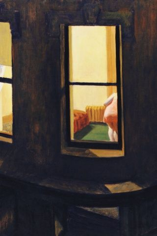 edward hopper | Edward Hopper simple reaction to everyday life.  Few peoples and architectural compositions