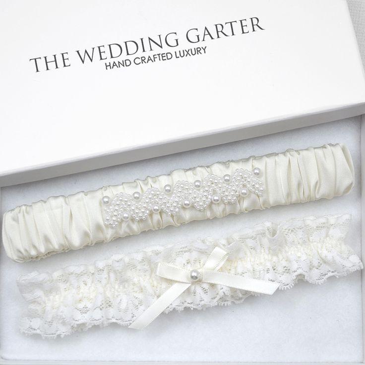 ivory wedding garter set plus size wedding garter