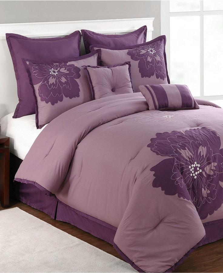 Pretty purple comforter set 210 best