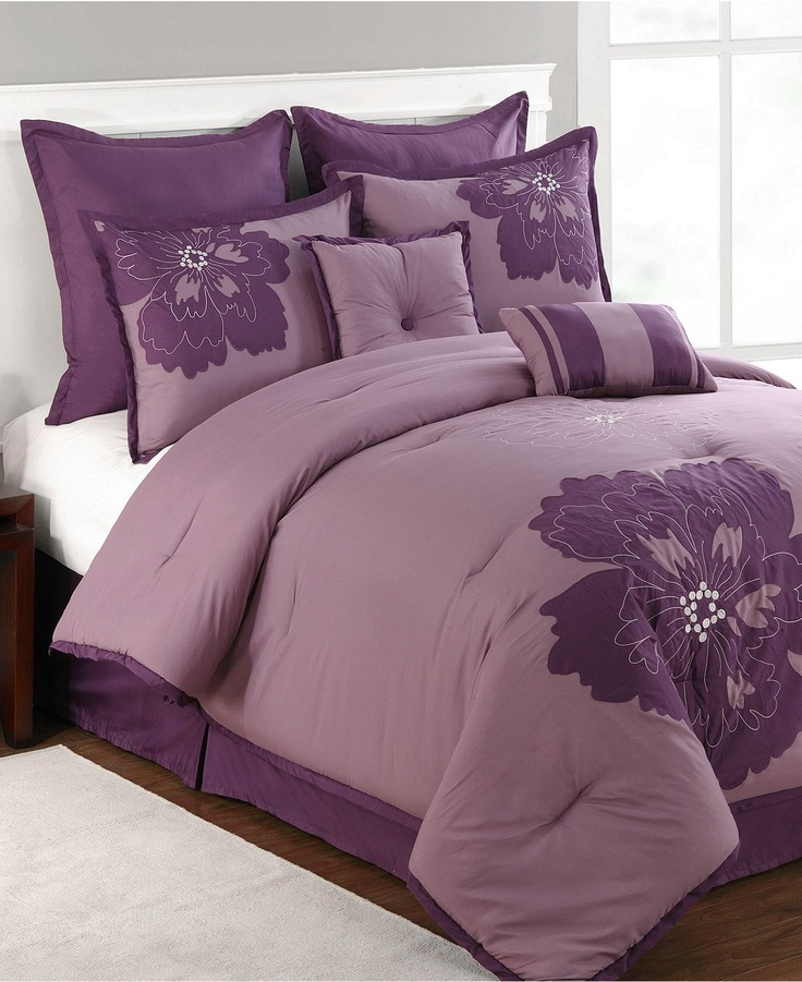 lea 6 8 comforter set in purple white bed bath 210 best images about comforter sets oh yes on 794