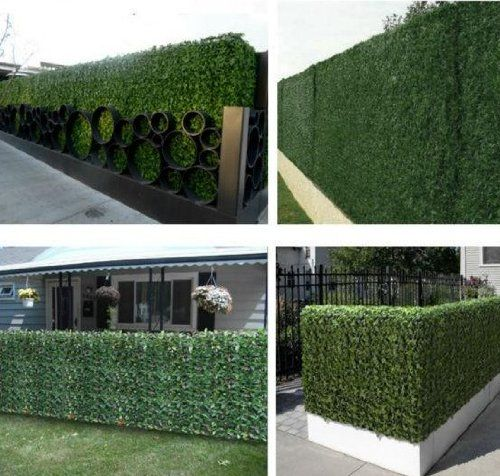 39 tall x 117 long artificial ivy leaf privacy fence for Tall outdoor privacy screen panels