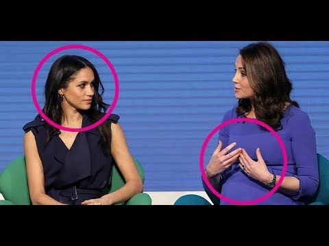 Body Language Expert Analyses What Kate Middleton and Meghan Markle Think of each other https://youtu.be/PU9V4p_ZdS0