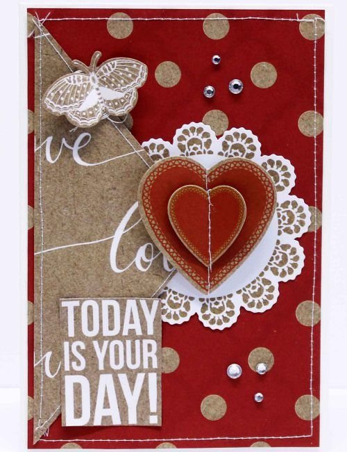 Today is your day card - Anita Bownds