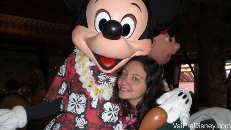 Restaurantes para encontrar os personagens da Disney