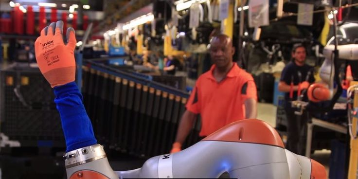Today in robot news: Ford's robots can build cars, make coffee, and even give head massages.   via @bi_contributors