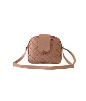 Women's Sling Bag - Tan