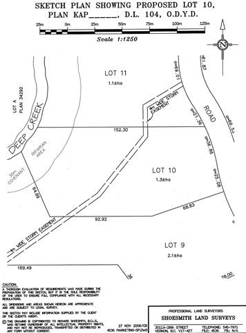 Lot 10 property in Spall Vista Estates.  3.18 Acres overlooking the Spallumcheen Golf and Country Club.  A short drive to ski hills and many other British Columbian Attractions.