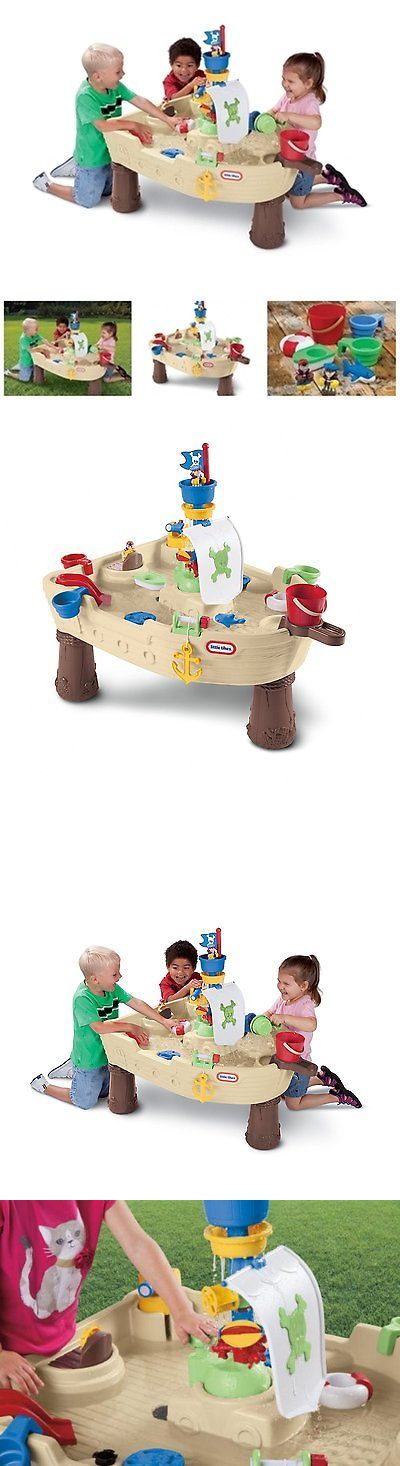 Other Sand and Water Toys 11745: Fun Pirate Ship Toy Outdoor Water Play Table Kid Adventure Playset Creative Game -> BUY IT NOW ONLY: $80.97 on eBay!