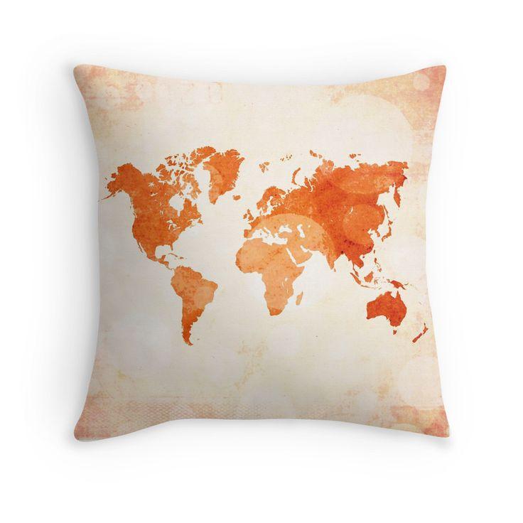 Bokeh world map