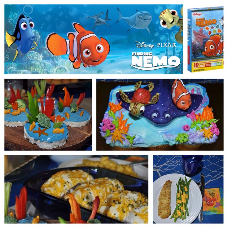 Disney Finding Nemo Dinner And A Movie Party Night We Had