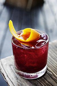 Ahumado Seco Cocktail. Photo by Jody Horton