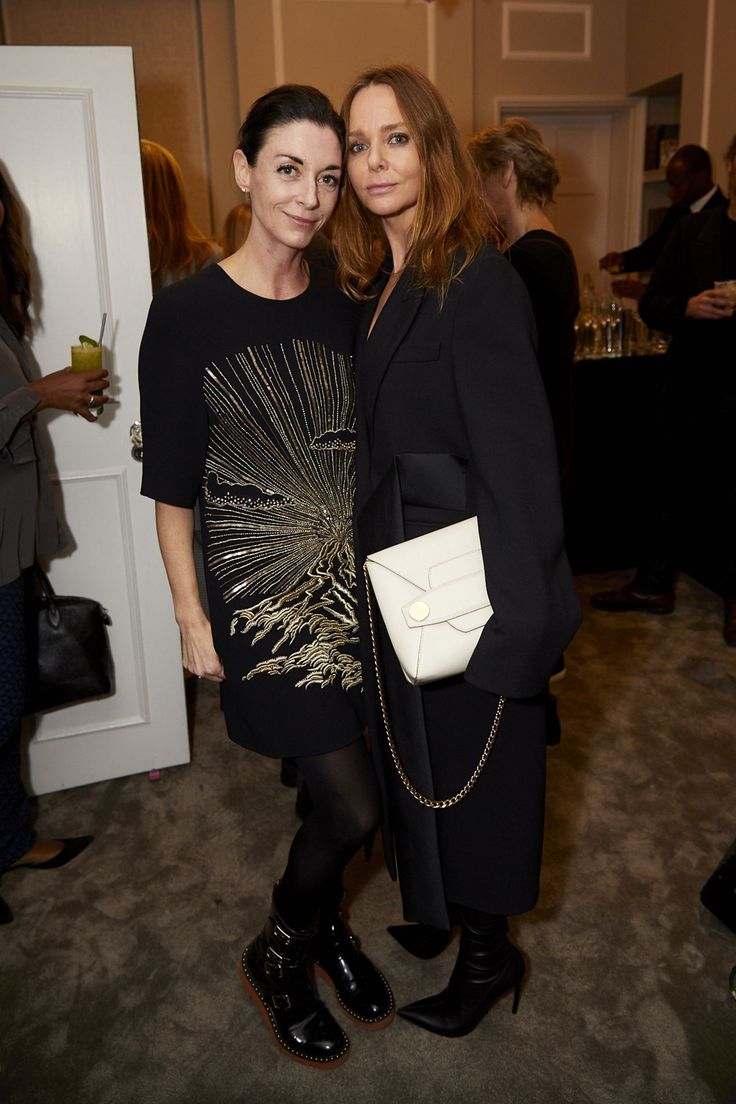 Mary McCartney & Stella-McCartney - Mary McCartney x Matches launch party, London – November 15 2017