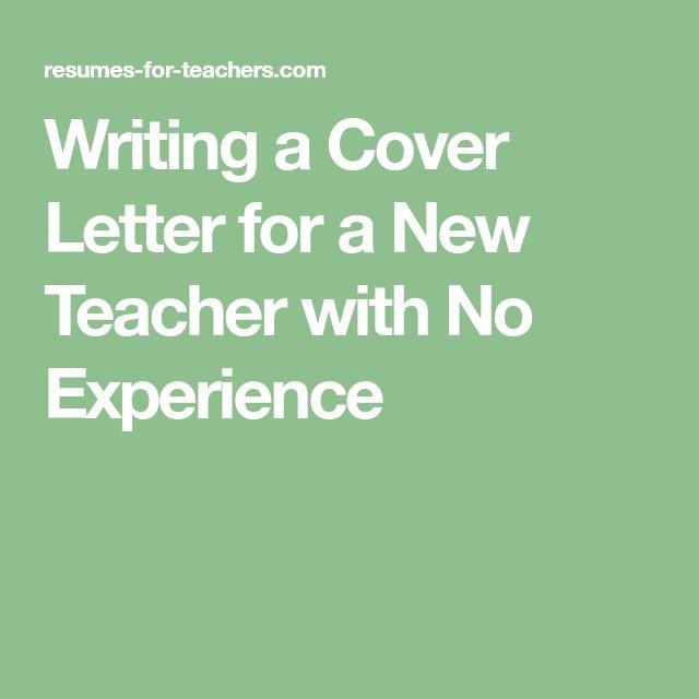 The  Best Cover Letter Teacher Ideas On   Teacher