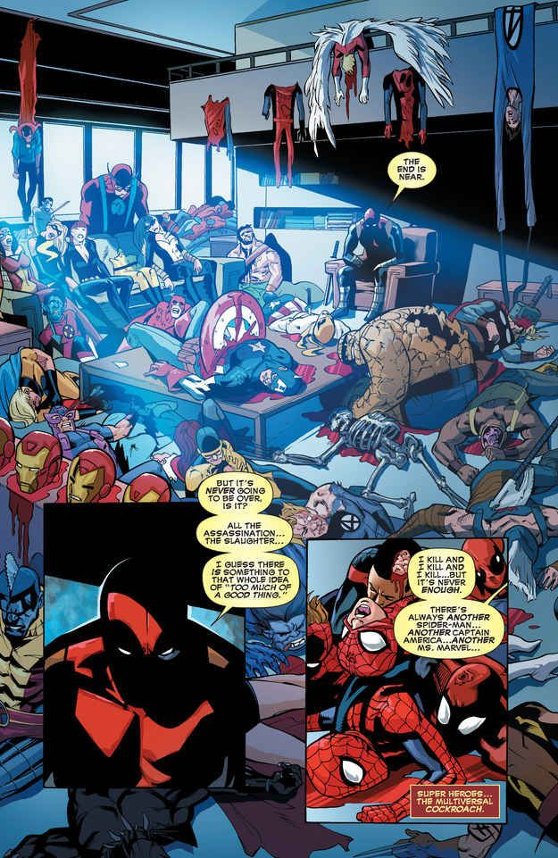 En algún punto tuvo un especial llamado Deadpool kills the Marvel Universe.
