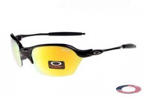 4bd79aa0341 Knockoff Oakley Half X Sunglasses Black   Fire Iridium