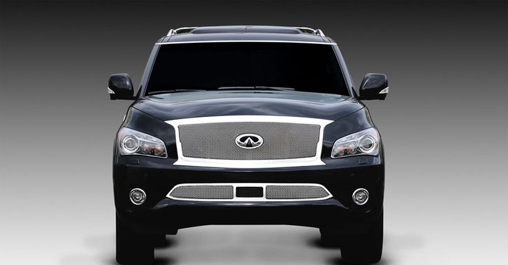 qx56 with 26 inch rims | Grills for a Infiniti QX56 at Street Dreams