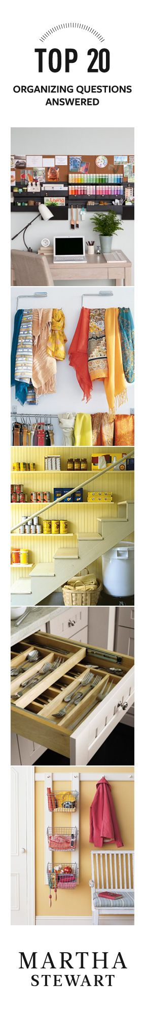 Your Top 20 Organizing Questions Answers