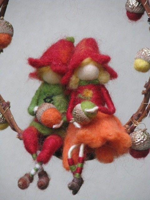 acorn dolls
