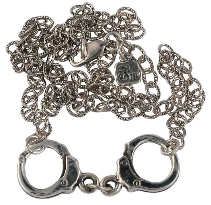 Femme Metale .925 Sterling Silver Cuff Me Necklace