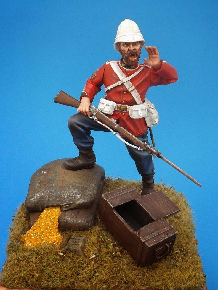 British Colour Sergeant 90mm - 2º Battalion, 24º Regiment 1879