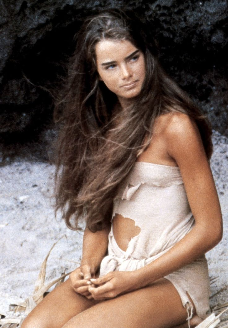 Brooke, The Blue Lagoon! How would you like to be 18 years old and stranded on an island with her for a while?