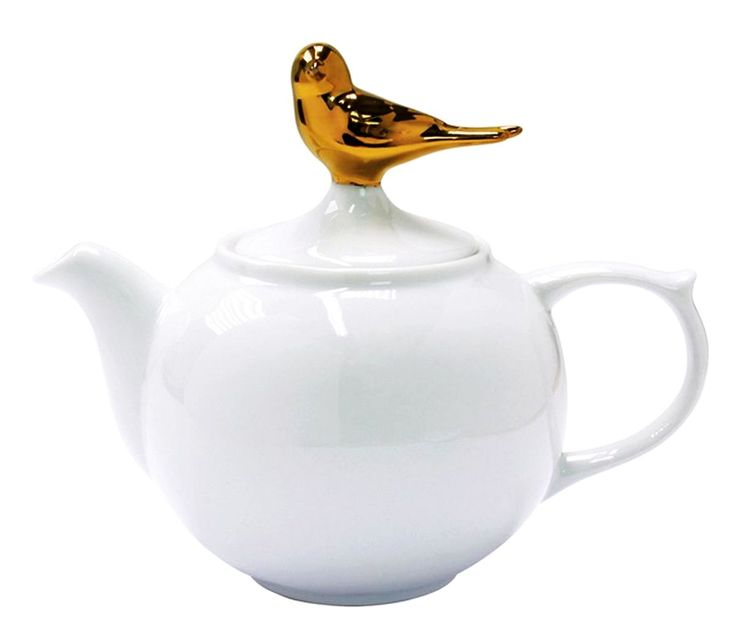 Topchoice GOLDEN BIRDIE Teekanne 500 ml  available at www.sillydesign.pl