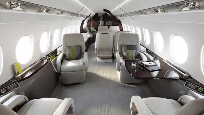 Falcon 5X intérieur design