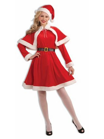 Adult Classic Miss Santa Costume