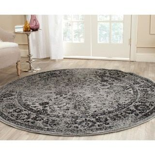 Safavieh Adirondack Vintage Distressed Grey / Black Rug (4u0027 Round) By  Safavieh. Black RugOutlet StoreOutlets