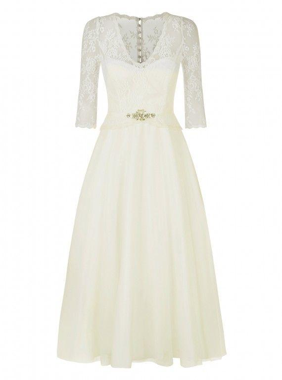 Monsoon Coralie Dress, £299. #MonsoonCoralieDress #Monsoonweddingdresses #highstreetweddingdresses