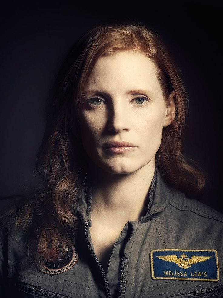 """Jessica Chastain in """"The Martian"""" (2015). Director: Ridley Scott."""
