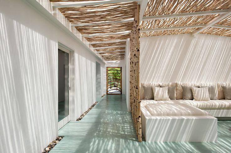 Terrasse Couverte Et Mobilier En B Ton Cir
