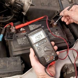 Don't test an alternator by disconnecting the negative battery cable. Use a voltmeter instead to conduct a simple, safe test.