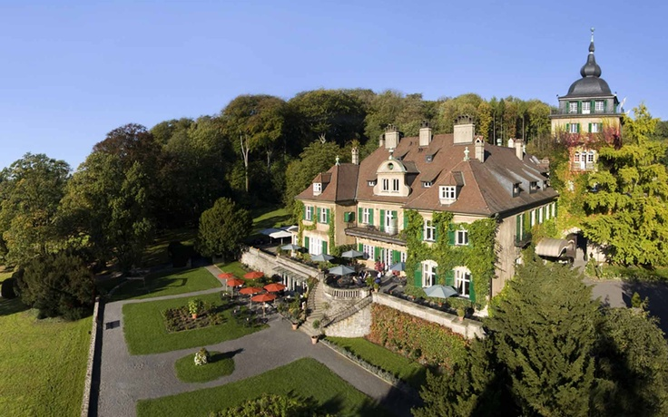 Schlosshotel Lerbach. Restaurant of a Grand Chef Relais  Châteaux and hotel in the woods. Bergisch Gladbach, Germany. #relaischateaux