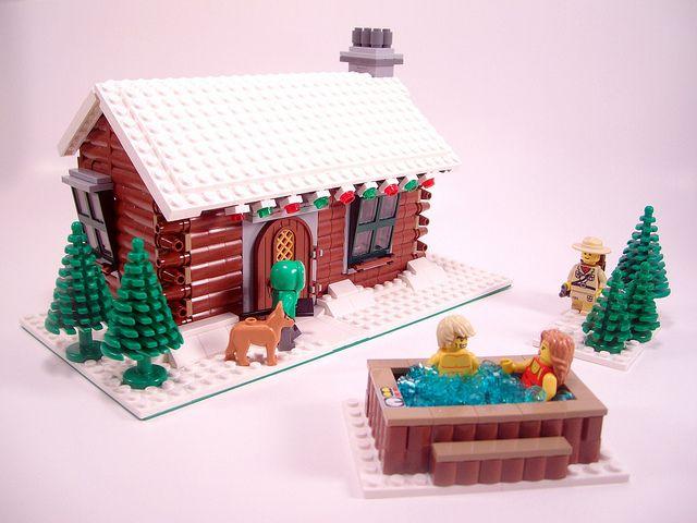 Winter Village: Log Cabin 1, v2.0 | Flickr - Photo Sharing ...