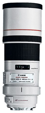 Объективы Canon EF 300mm f/4L IS USM