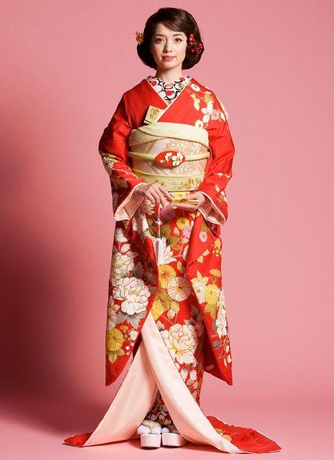 Japanese wedding hairstyle