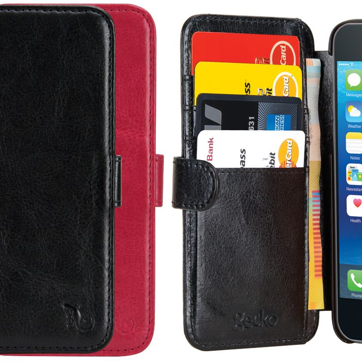 The Gecko Wallet provides the ultimate in convenience and style.