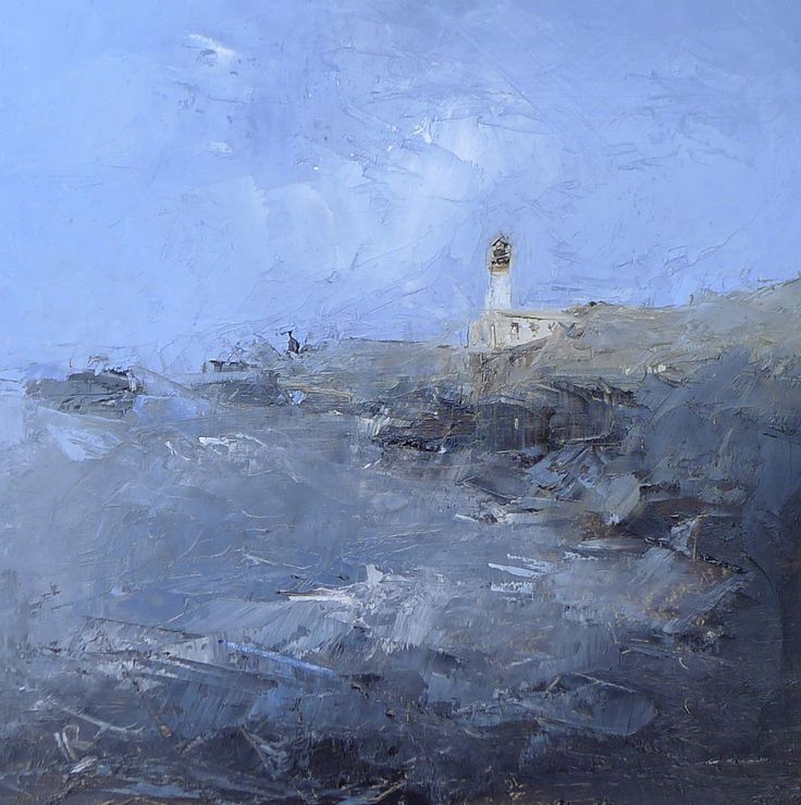 Turnberry Light  9 x 9 inch Oil on board
