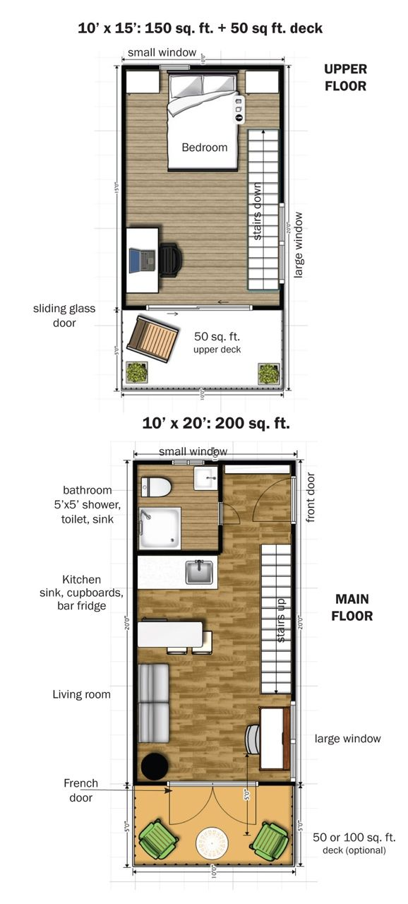 76 Best Tiny House Floor Plans