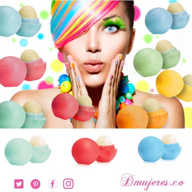 Productos EOS Ricos en antioxidantes, 95% orgánicos, búscalos en el color y aroma que más se adapte a tu personalidad!