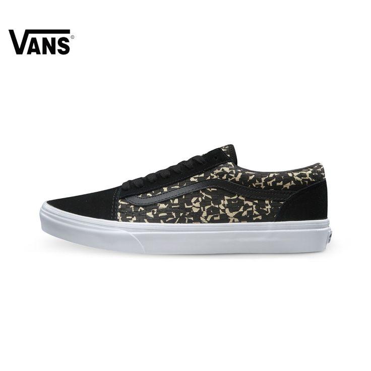 Original Vans New Arrival Men's Skateboarding Shoes Vans Sports Shoes Sneakers