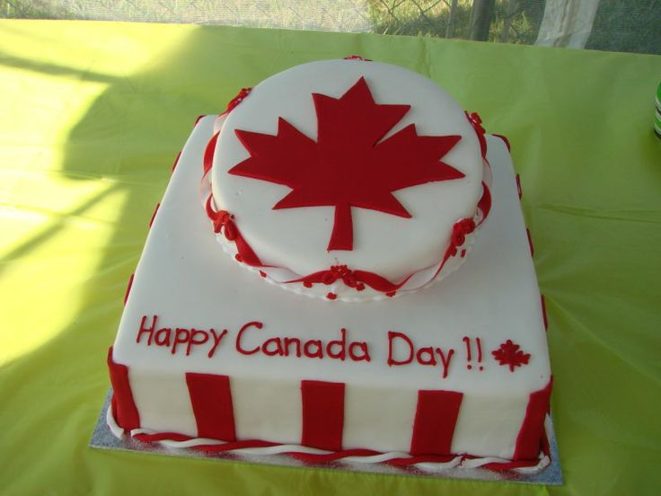 Awesome Canada Day Cake!